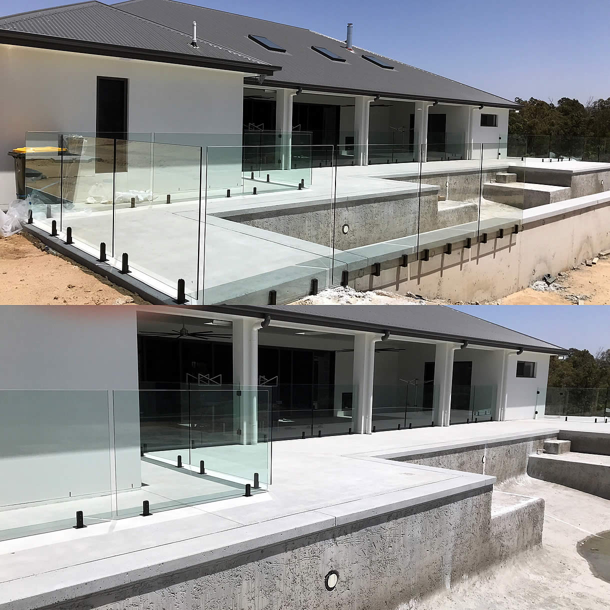 Raphs Glass Pool Fencing Brisbane Modern New Build