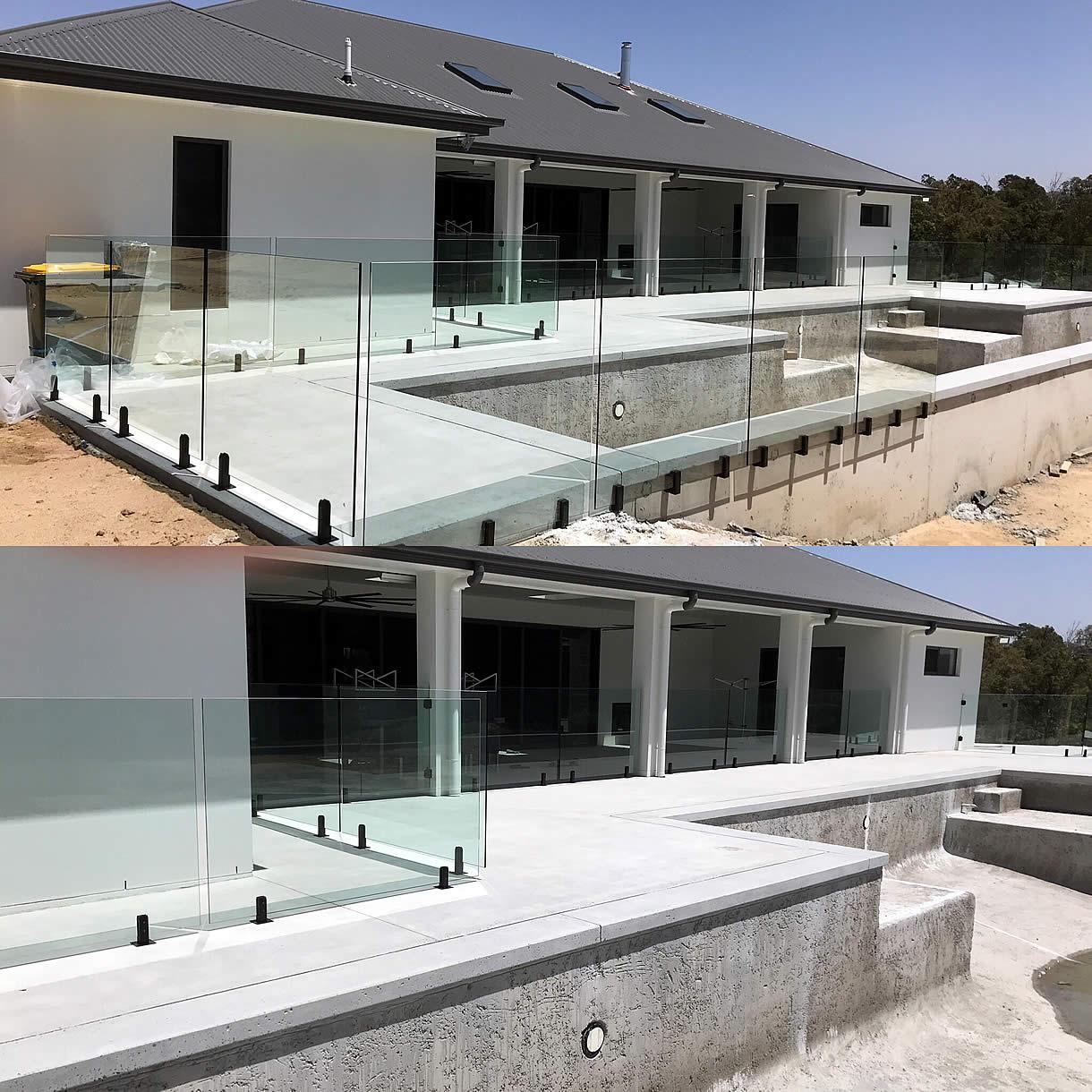Raphs Glass Pool Fencing Brisbane Modern New Build
