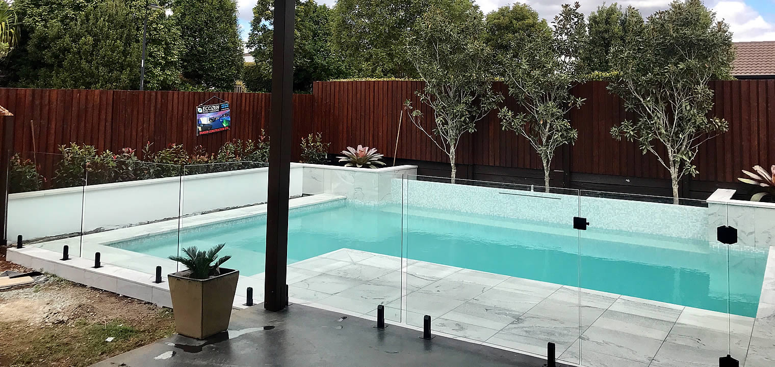 Raphs Glass Pool Fencing Brisbane Frameless Glass Pool Fencing Project Moggill Brisbane